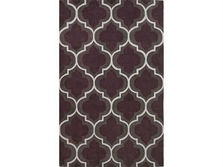 Dalyn Infinity Rectangular Plum Area Rug DLIF3PLUM
