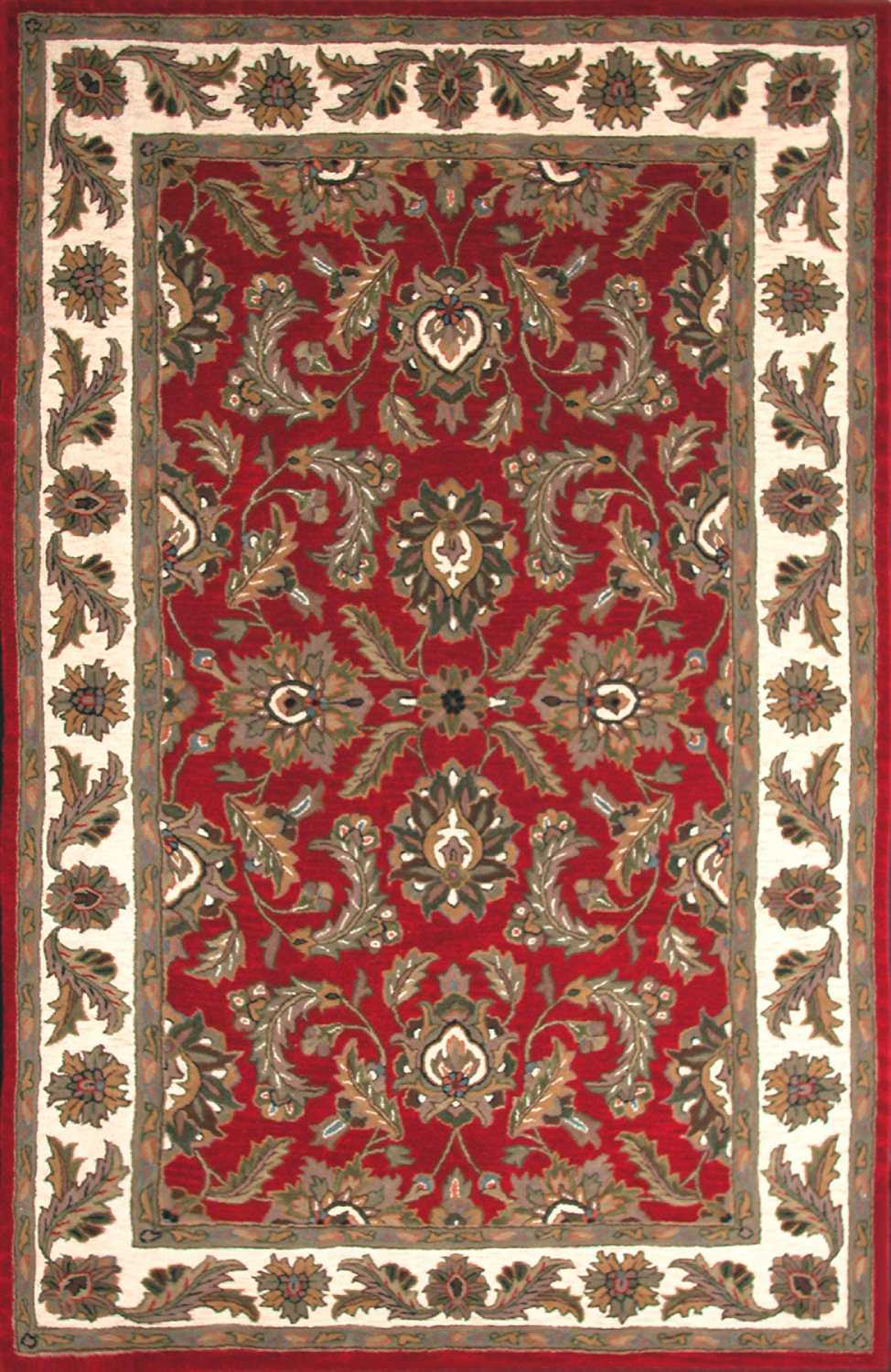 Dalyn Jewel Red Area Rug Dljw10red