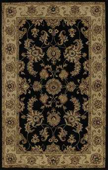Dalyn Jewel Black Area Rug DLJW1787BLACK