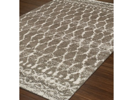 Dalyn Rocco Taupe Rectangular Area Rug DLRC5TAUPE