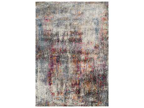 Dalyn Rossini Rectangular Gray Area Rug DLRS521MULTI