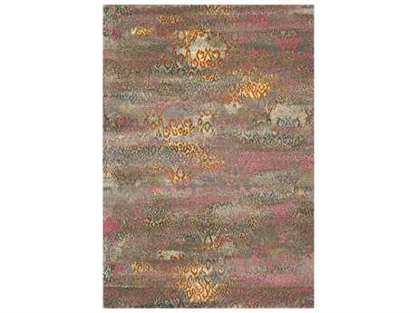 Dalyn Rossini Rectangular Brown Area Rug DLRS5501MULTI