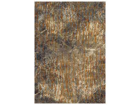 Dalyn Rossini Rectangular Brown Area Rug