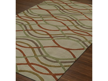 Dalyn Santino Sand Rectangular Area Rug