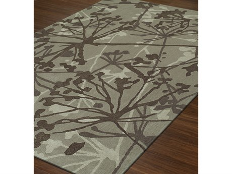 Dalyn Santino Taupe Rectangular Area Rug