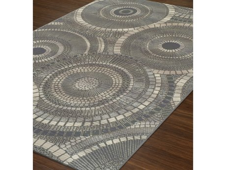 Dalyn St Croix Rectangular Area Rug DLSX1STEEL
