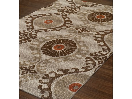Dalyn St Croix Rectangular Area Rug DLSX2MOCHA
