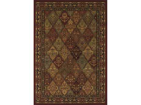 Dalyn Wembley Rectangular Red Area Rug DLWB38RED