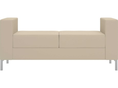 Dauphin Aleta Two Seat Bench with Arms