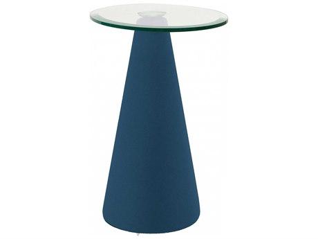 Dauphin Aspetta 20''L x 14''W Oval Pedestal Table DAUAS55085