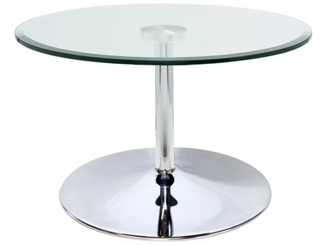 Dauphin Axium Round Occasional Height / Lounge Pedestal Table DAUAX30DOHLH