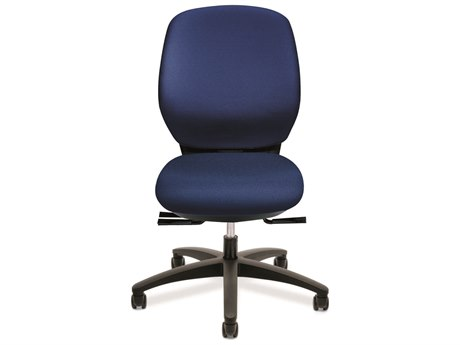 Dauphin Basis, Syncro, Contour Medium Back Task Chair DAUBL130P