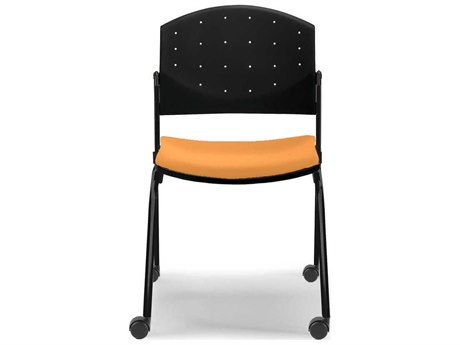 Dauphin Eddy Post Chair with Casters DAUED4080