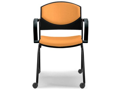 Dauphin Eddy Post Chair with Casters DAUED4090