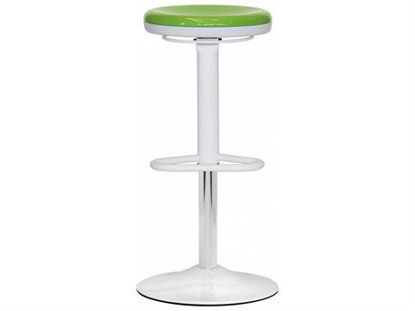 Dauphin Octave Round Green Bar Stool