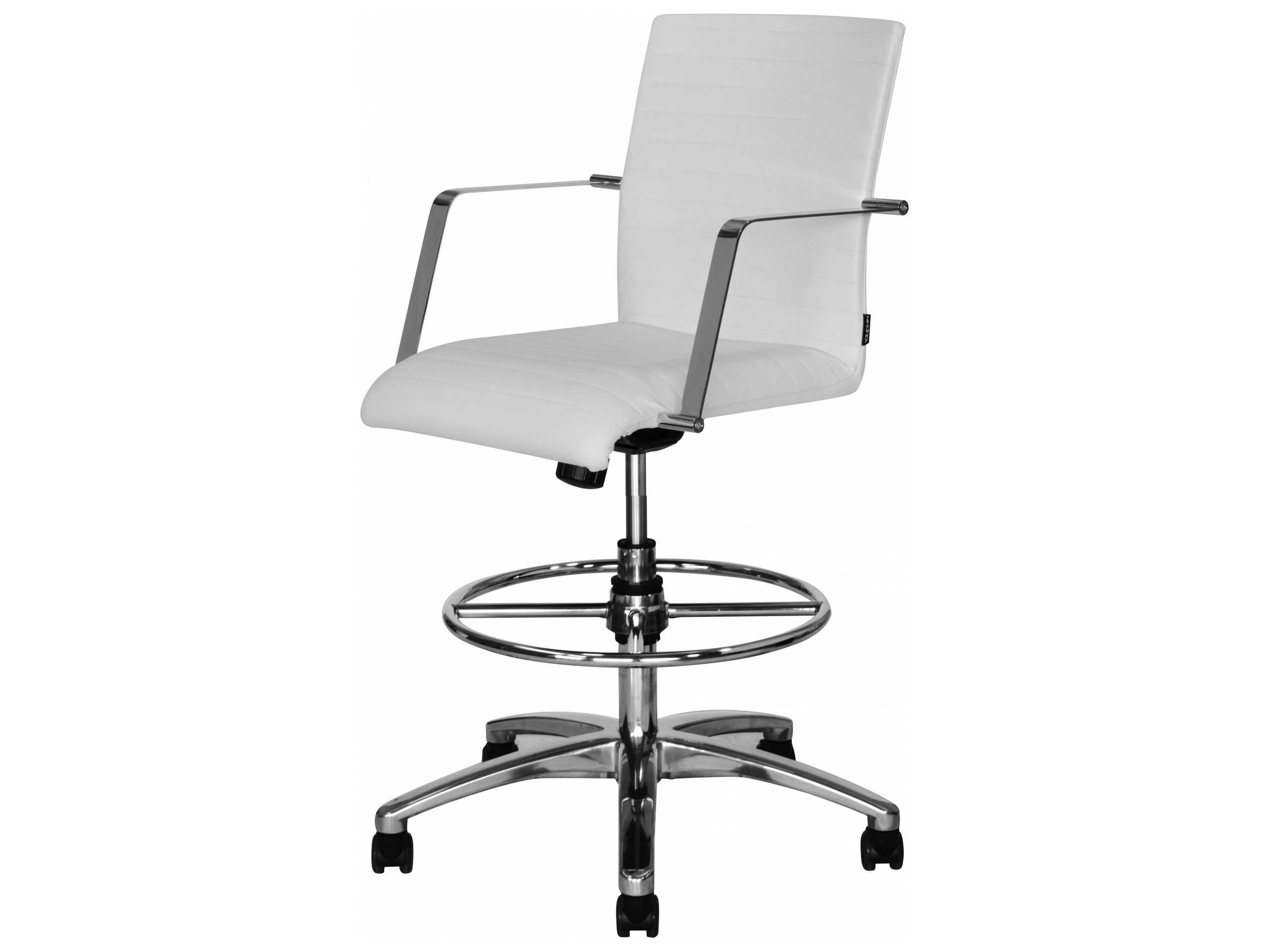 Dauphin Siamo Swivel Tilt Tall Desk Chair Dausm16680t