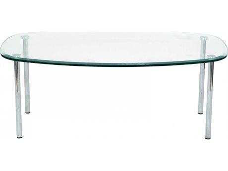 Dauphin Tiffany 41''L x 26''W Rectangular Soft Corner Coffee Table DAUTF4126SH