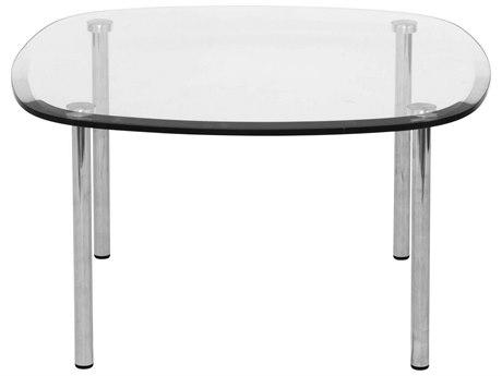 Dauphin Tiffany 26'' Wide Square Soft Corner End Table DAUTF2626SH