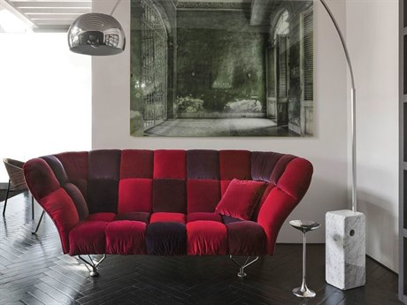 Driade Cuscini Three-Seater Velvet Sofa DRH87630S