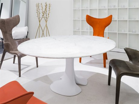 Driade Didymos Table with Marble Top Dining Table
