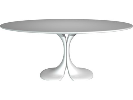 Driade Didymos Table with Crystal Plant Top Dining Table DRH8616080