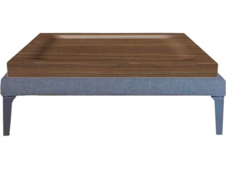 Driade Megara 38.55'' Little Square Walnut Coffee Table DRH877135