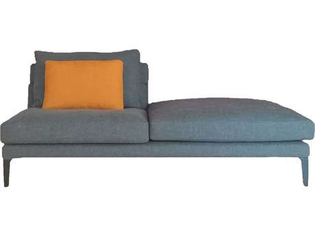 Driade Megara Central Sectional with Right Ottoman