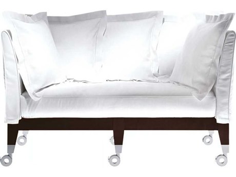 Driade Neoz Two-Seater Sofa with Five Throw Cushions