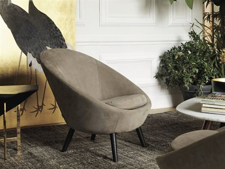 Driade Ten Armchair with Ebonized Ash Wood Legs DRH883110