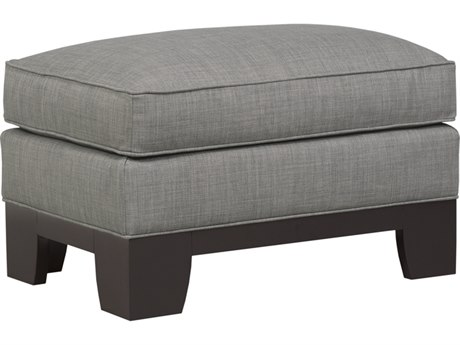 Duralee Breese Ottoman with Semi Attached Top