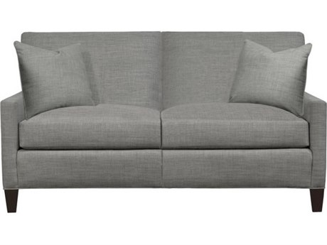 Duralee Brighton Tight Back Loveseat with Small Track Arm