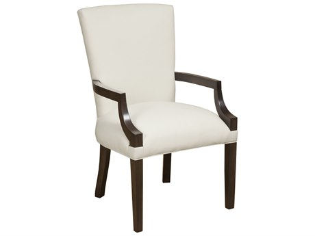 Duralee Chicago Curved Back Dining Arm Chair