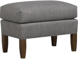 Hanover Ottoman with Double Needled Seems