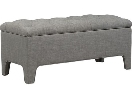 Duralee Lincoln Button Tufted Lift Top Accent Bench DRL5095544