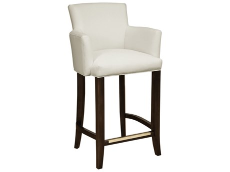 Duralee Madrid Barrel Back Bar Stool