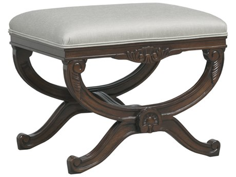 Duralee Remy Tight Top Accent Bench with Double Welt