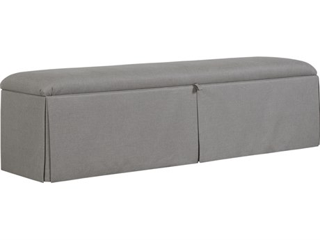 Duralee Ryan Queen Size Accent Bench with Skirt