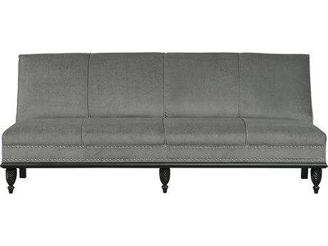 Duralee San Paulo Welted Tight Back Sofa with Nailhead