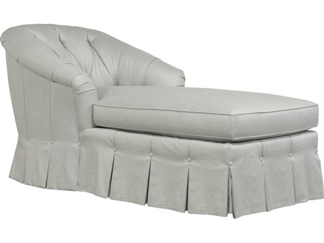 Duralee Tuscany Button Tufted Back Chaise Lounge DRL10113