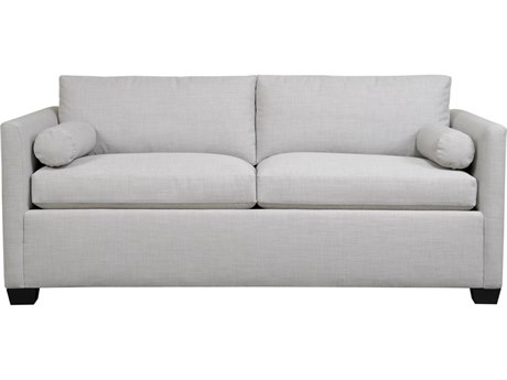 Duralee Yucca Valley Boxed Back Twin Sleeper Sofa with Two Bolsters DRL105251T