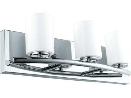 Eglo Abete Chrome Three-Light Vanity Light