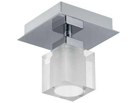 Eglo Bantry Matte Nickel Semi-Flush Mount Light