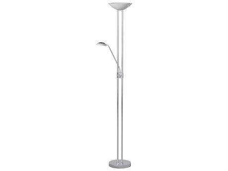 Eglo Baya Chrome Five-Light LED Floor Lamp EGL93875A