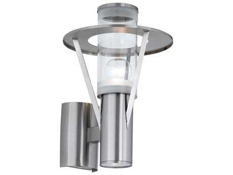 Eglo Belfast Stainless Steel Two-Light Outdoor Wall Light