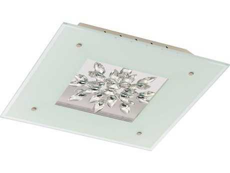 Eglo Benalua White 19'' Wide LED Flush Mount Light EGL93574A