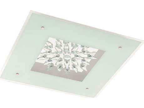 Eglo Benalua White 23'' Wide LED Flush Mount Light EGL93575A