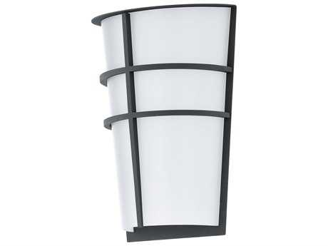 Eglo Breganzo Anthracite Two-Light LED Outdoor Wall Light EGL94138A