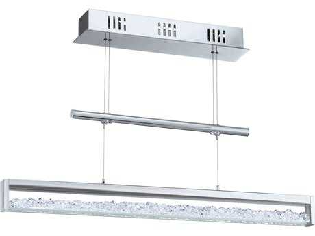 Eglo Cardito Chrome Four-Light 28'' Long Island Light EGL93625A
