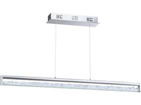 Eglo Cardito Chrome Six-Light 40'' Long Island Light EGL93626A