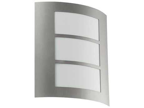 Eglo City Stainless Steel Outdoor Wall Light EGL88139A